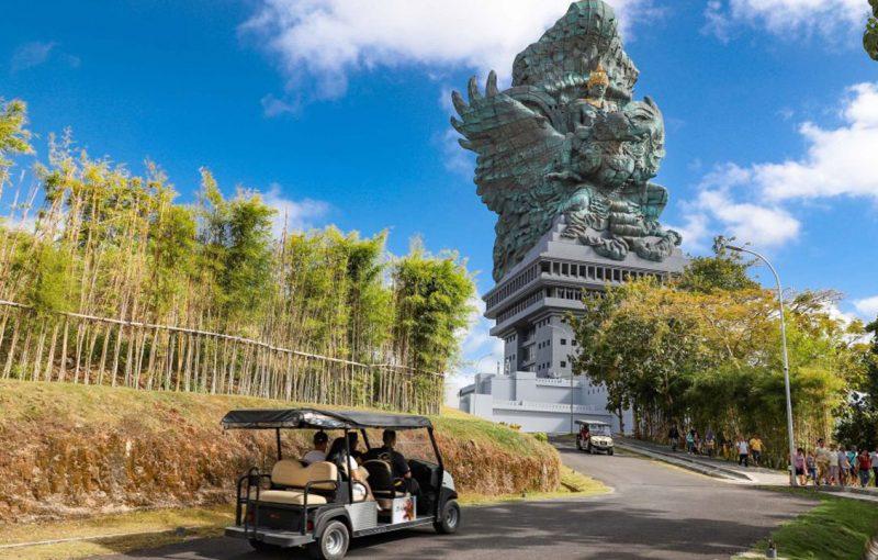 biggest statue in bali