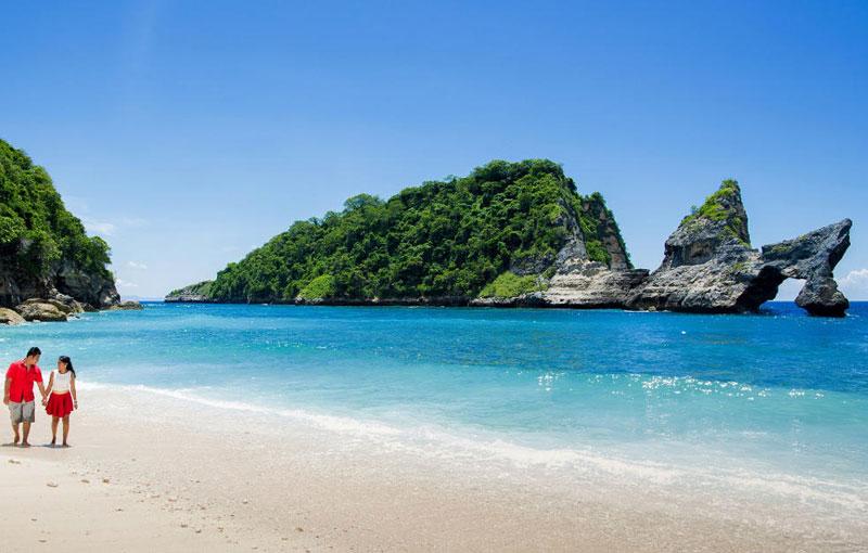 Best Beach In Nusa Peniida