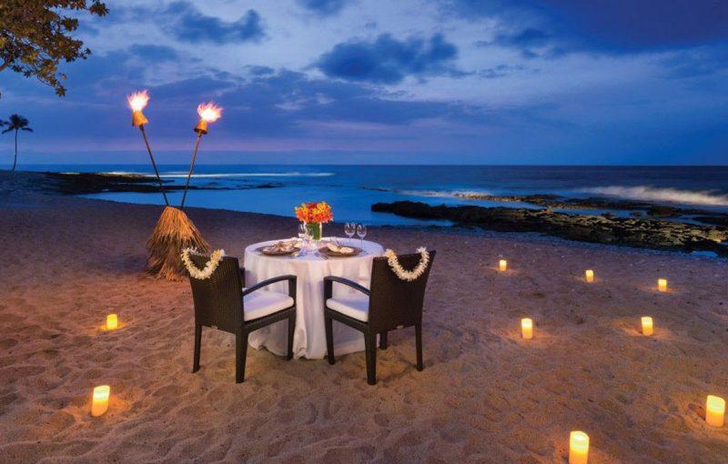 Romantic Sunset Dinner At Jimbaran